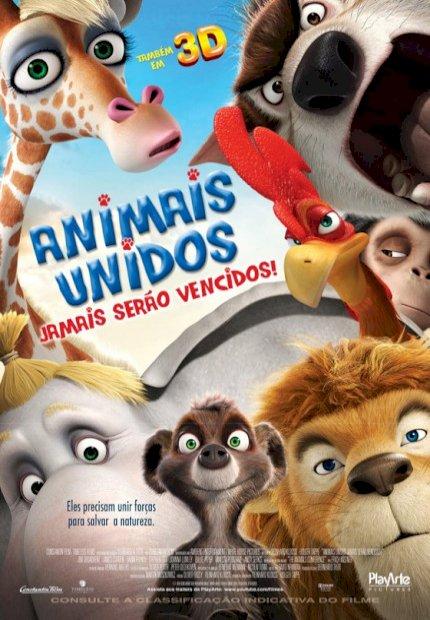 Animais Unidos Jamais serão Vencidos (Animals United 3D)