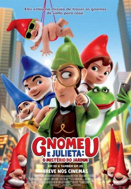 Gnomeu e Julieta: O Mistério do Jardim (Sherlock Gnomes)