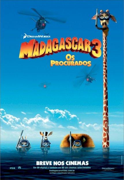 Madagascar 3: Os Procurados (Madagascar 3: Europe Most Wanted)