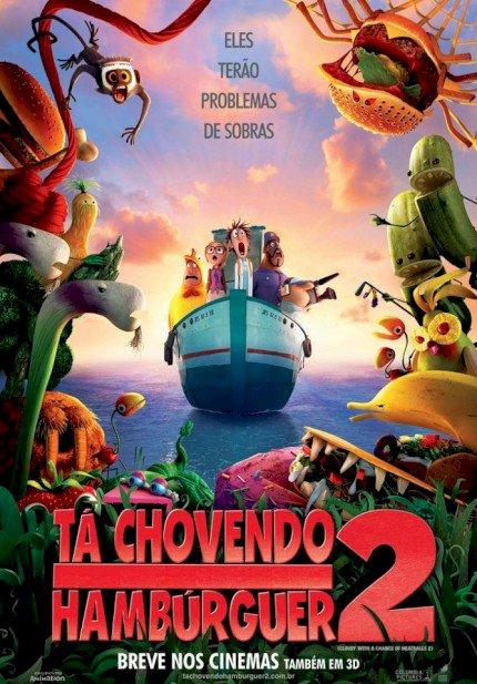 Tá Chovendo Hambúrguer 2 (Cloudy 2: Revenge of the Leftovers)